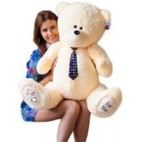 Большой мишка Тедди (Teddy) бежевый 130 см