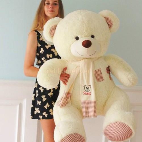 Подарок плюшевый медведь 150 см